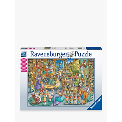 Picture of Ravensburger Midnight Library Jigsaw Puzzle, 1000 Pieces