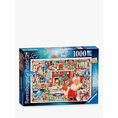 Picture of Ravensburger Christmas Is Coming Jigsaw Puzzle, 1000 Pieces