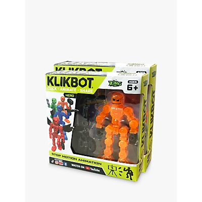 Picture of KlikBots Heroes Stop Motion Animation Action Figure, Pack of 2