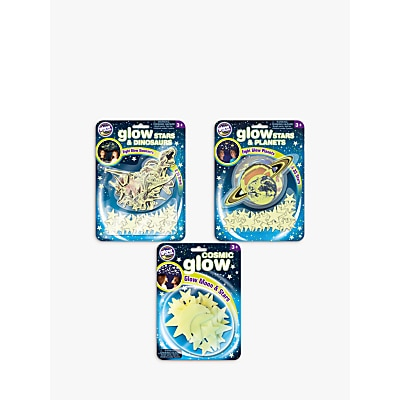 Picture of Brainstorm The Original Glow in the Dark Moon, Planets & Dinosaurs Stickers