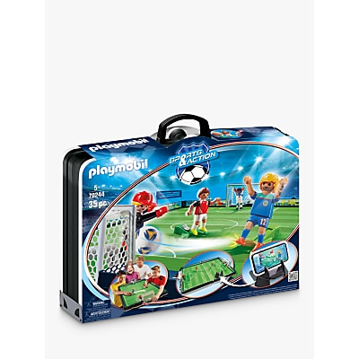 Picture of Playmobil Sports & Action 70244 Take-Along Soccer Arena