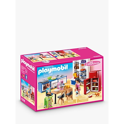 Picture of Playmobil Dollhouse 70206 Family Kitchen