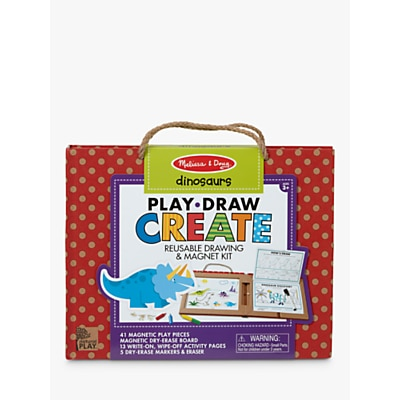 Picture of Melissa & Doug Reusable Drawing & Magnet Dinosaur Kit
