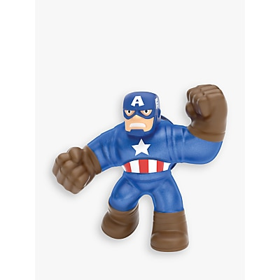 Picture of Heroes of Goo Jit Zu Marvel Captain America Squishy Action Figure