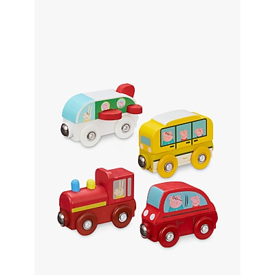 Picture of Peppa Pig Wooden Mini Vehicles