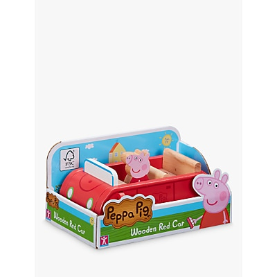 Picture of Peppa Pig Wooden Red Car