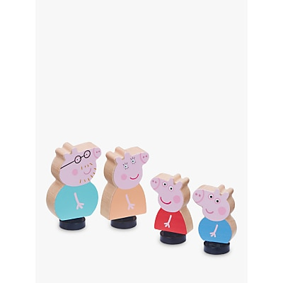 Picture of Peppa Pig Wooden Family Figures Set