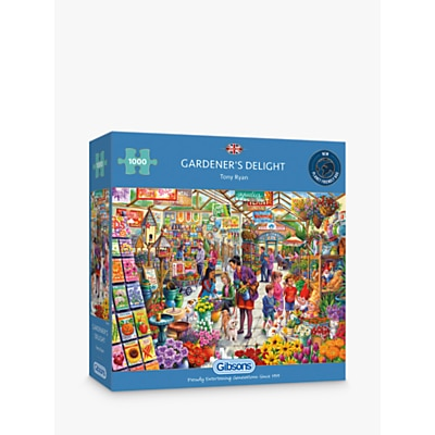 Picture of Gibsons Garden Delight Jigsaw Puzzle, 1000 Pieces