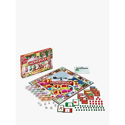 Picture of Christmas Monopoly Board Game
