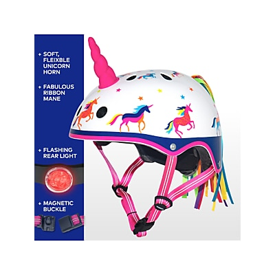 Picture of Micro Unicorn 3D Scooter Helmet, Small