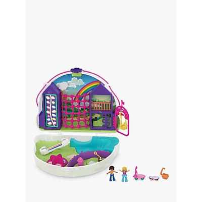 Picture of Polly Pocket Rainbow Dream Wearable Purse Compact