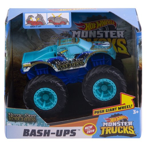 Picture of Hot Wheels Monster Trucks Bash-Ups - Nessie-Sary Roughness