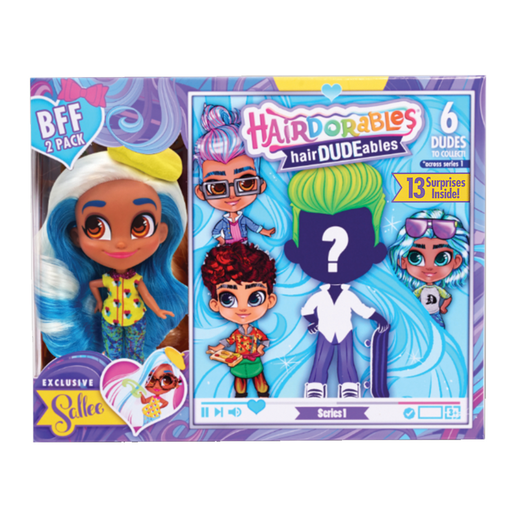 Picture of Hairdorables Hair-DUDE-ables BFF (Styles Vary)