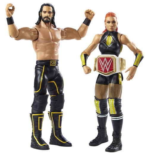 Picture of WWE Battle Pack Figures - Seth Rollins & Becky Lynch