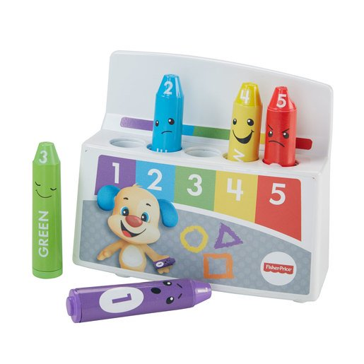 Picture of Fisher-Price Laugh and Learn Colourful Mood Crayons