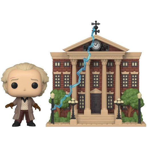 Picture of Funko Pop! Movies: Back To The Future - Doc With Clock Tower