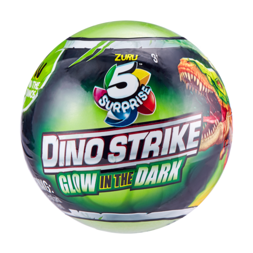 Picture of 5 Surprise Dino Strike Glow In The Dark (Styles Vary)