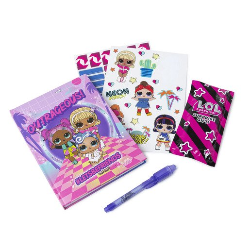Picture of L.O.L Surprise! L.E.D Light Up Diary Set