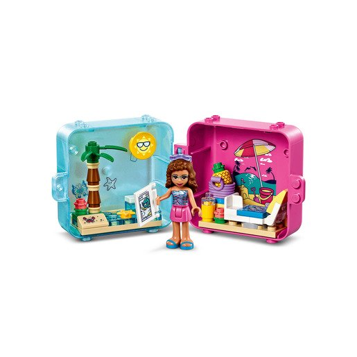 Picture of LEGO Friends Olivia's Summer Play Cube - 41412