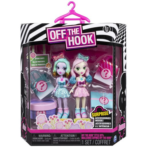 Picture of Off The Hook BFF Dolls - Spring Dance With Bows