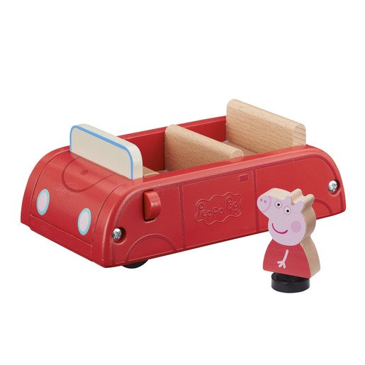 Picture of Peppa Pig Wooden Vehicle - Family Car