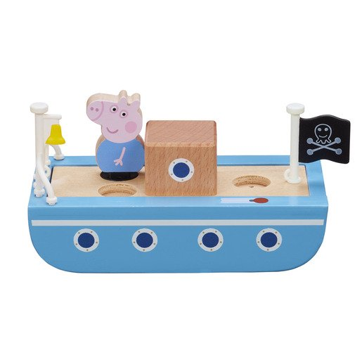 Picture of Peppa Pig Wooden Boat Playset