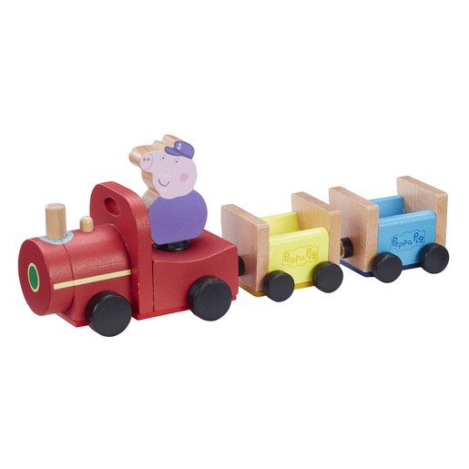 Picture of Peppa Pig Wooden Grandpa's Train