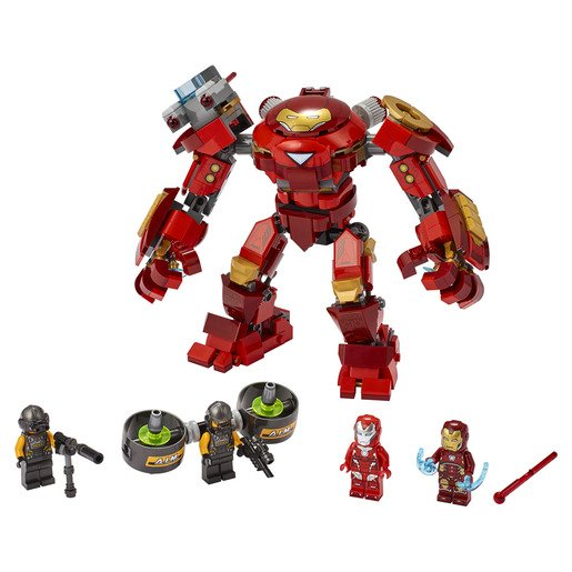 Picture of LEGO Marvel Avengers Iron Man Hulkbuster Versus A.I.M. Agent - 76164
