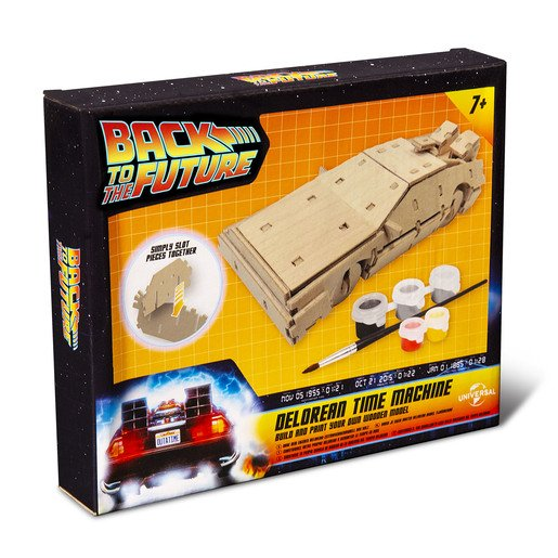 Picture of Back To The Future Paint Your Own Delorean Time Machine