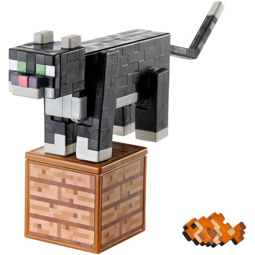 Picture of Minecraft Figure - Tuxedo Cat