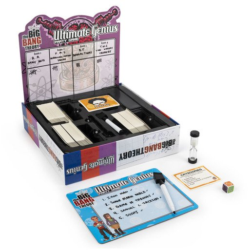 Picture of The Big Bang Theory Ultimate Genius Party Game