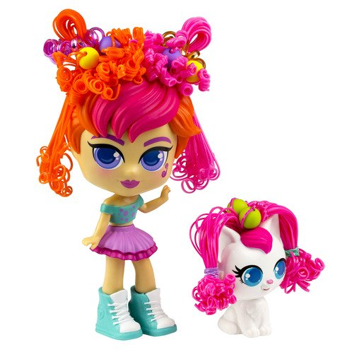 Picture of Curli Girls Deluxe Doll - Birthday Girl