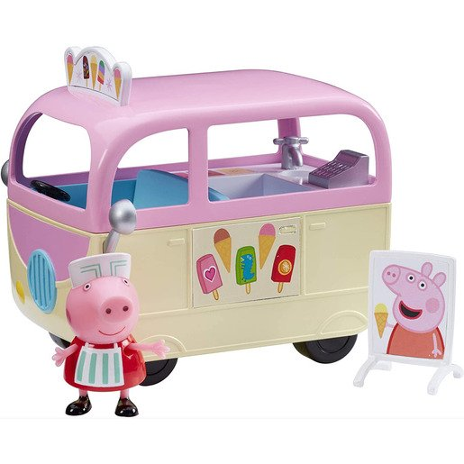 Picture of Peppa Pig Vehicle and Figure - Ice Cream Van