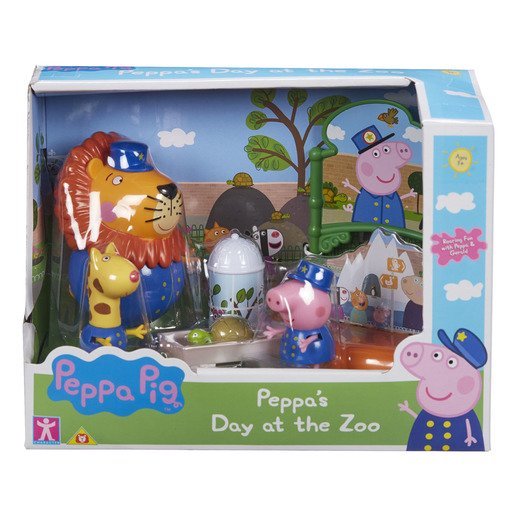 Picture of Peppa Pig Day At The Zoo Playset