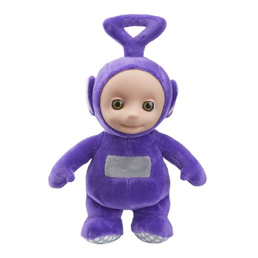 Picture of Teletubbies Talking 8 inch Soft Toy - Tinky Winky