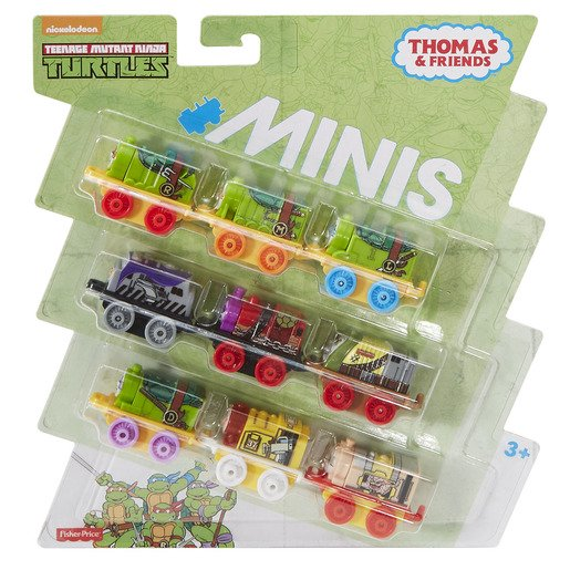 Picture of Thomas & Friends Mini 9 Pack - Teenage Mutant Ninja Turtles