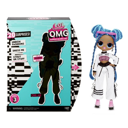 Picture of L.O.L. Surprise! Outrageous Millennial Girls Fashion Doll - Chillax