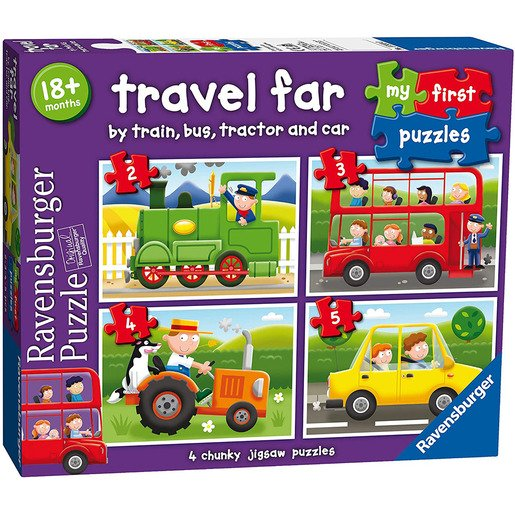 Picture of My First Puzzles - Travel Far