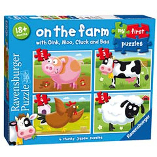 Picture of My First Puzzles - On The Farm