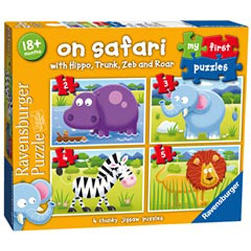 Picture of My First Puzzles - On Safari