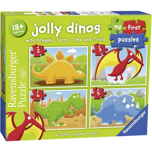Picture of My First Puzzles - Jolly Dinos