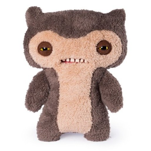 Picture of Fuggler 30cm Funny Ugly Monster - Scuffy Fox Monster Brown