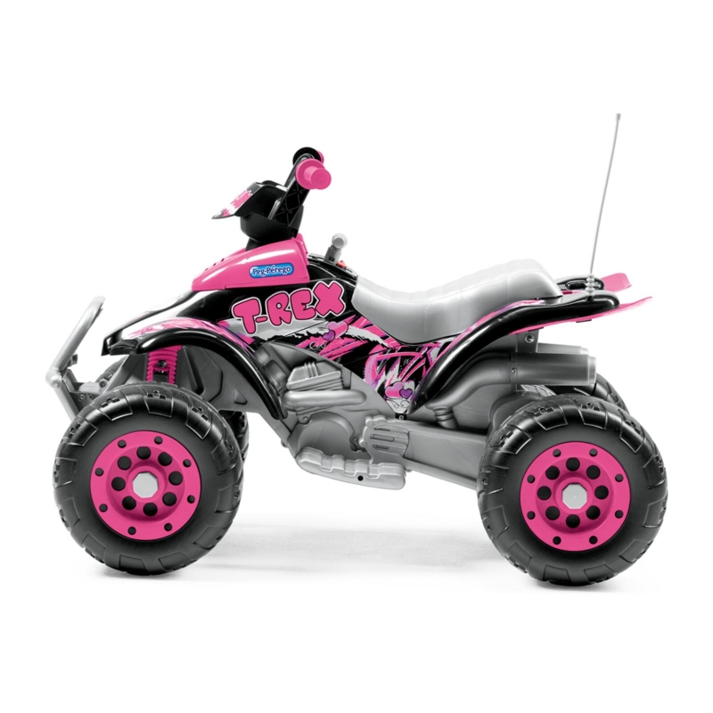Picture of Peg Perego Corral T-Rex Electrical Quad Bike- Pink