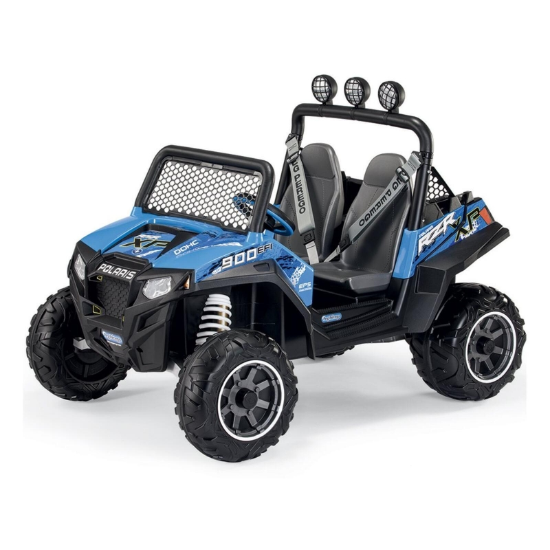 Picture of Peg Perego Polaris Ranger RZR 900 Electric Ride On Buggy-Blue