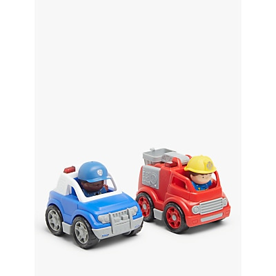 Picture of John Lewis & Partners City Fire & Police Truck Set
