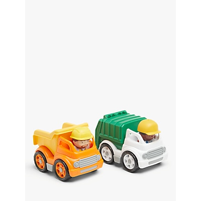 Picture of John Lewis & Partners City Recycle & Dump Truck Set