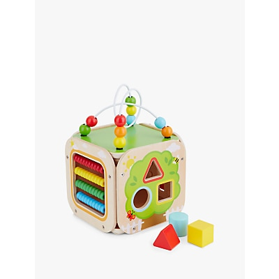 Picture of John Lewis & Partners Wooden Activity Cube
