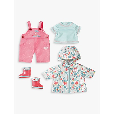 Picture of Zapf Baby Annabell Deluxe Rain Coat Set