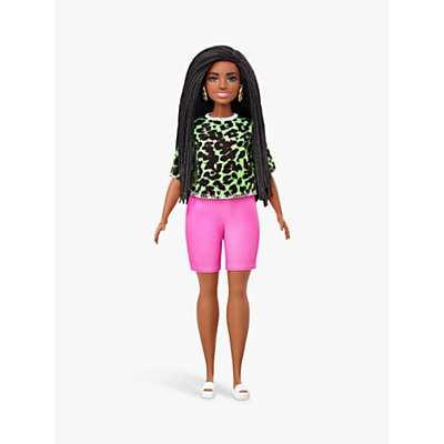 Picture of Barbie Fashionistas Neon Leopard Outfit Doll