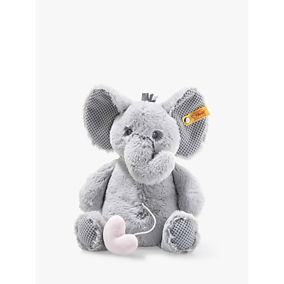 Picture of Steiff Soft Cuddly Friends Ellie Elephant Music Box